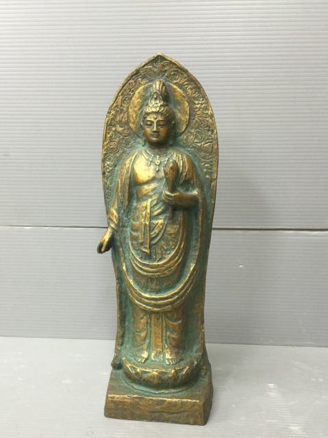本日はさいたま市中央区にて、北村西望の仏像をお譲り頂きました。
